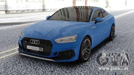 Audi RS5 Blue pour GTA San Andreas