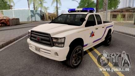 Bravado Bison 2013 Hometown PD Style pour GTA San Andreas