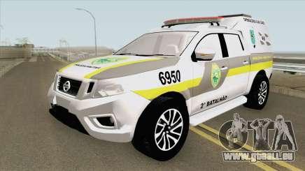 Nissan Frontier 2017 (Policia Militar) pour GTA San Andreas