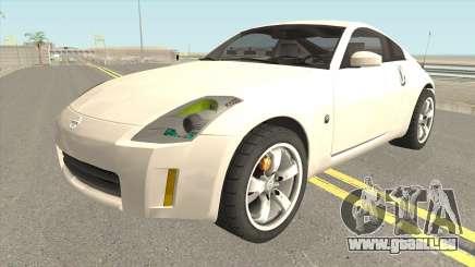 Nissan 350Z HQ pour GTA San Andreas