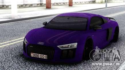 Audi R8 V10 MK1 für GTA San Andreas