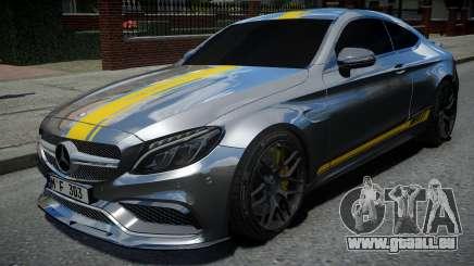 Mercedes-Benz C63 S AMG pour GTA 4
