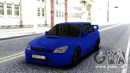 Subaru WRX STI 2004 Blue pour GTA San Andreas