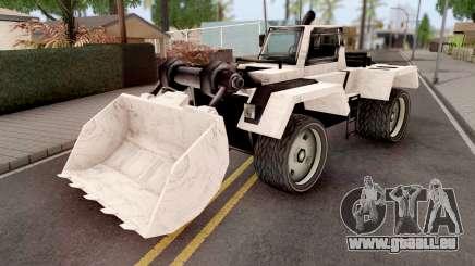 Bulldozer from GTA VCS pour GTA San Andreas
