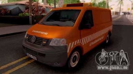 Volkswagen Transporter T5 Utkarbantartas für GTA San Andreas