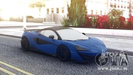 McLaren 600LT 2018 Blue pour GTA San Andreas