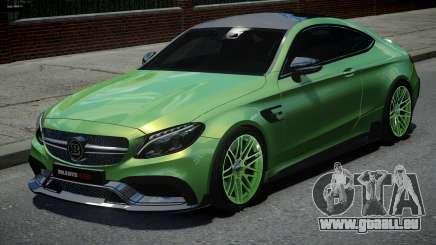 Mercedes-Benz C63 Brabus pour GTA 4