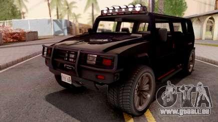 GTA V Mammoth Patriot R für GTA San Andreas