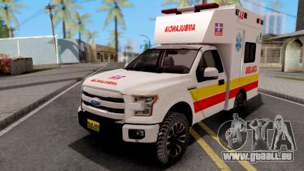 Ford F-150 Ambulancia de Bogota für GTA San Andreas