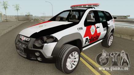 Fiat Palio Weekend 2017 (PMESP) pour GTA San Andreas