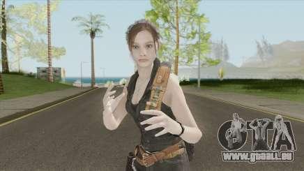 Claire Redfield Classic Lost MC pour GTA San Andreas