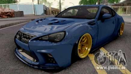 Subaru BRZ 2014 Aimgain Custom pour GTA San Andreas