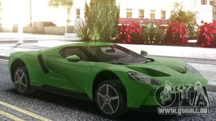 Ford GT 2017 Green für GTA San Andreas