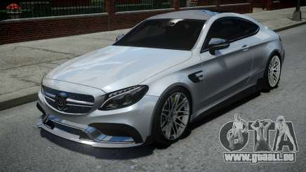 Mercedes-Benz C63 Brabus ENB Version pour GTA 4