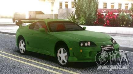 Toyota Supra Green pour GTA San Andreas