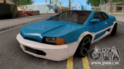V8 Ghost from GTA LCS pour GTA San Andreas