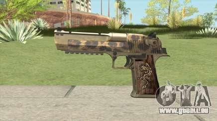 Desert Eagle 50ae (De Leopard) 2019 für GTA San Andreas