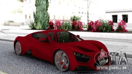 Zenvo ST1 pour GTA San Andreas