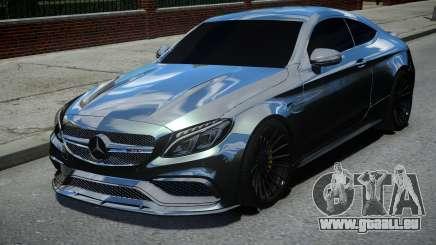 Mercedes-Benz C63 AMG Black für GTA 4