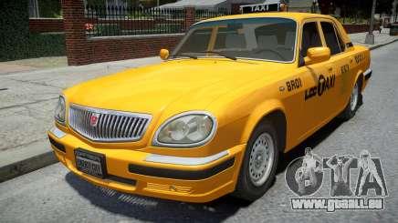 GAZ 31105 Volga Taxi 2004 LC pour GTA 4