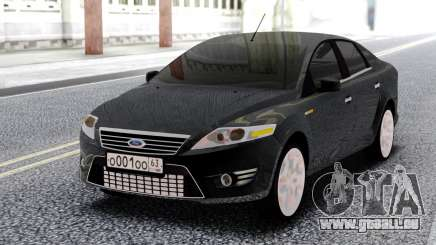 Ford Mondeo Sedan Black pour GTA San Andreas