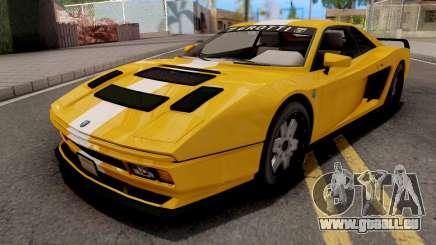 GTA V Grotti Cheetah Classic Coupe für GTA San Andreas