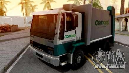 Ford Cargo 1415 Trash Prefecture SA Style pour GTA San Andreas