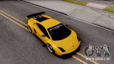 Lamborghini Gallardo LP570 2011 Liberty Walk pour GTA San Andreas