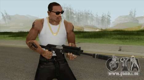 Heavy Shotgun Silenced GTA V pour GTA San Andreas