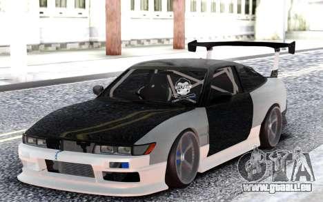 Nissan Sileighty DRIFT für GTA San Andreas
