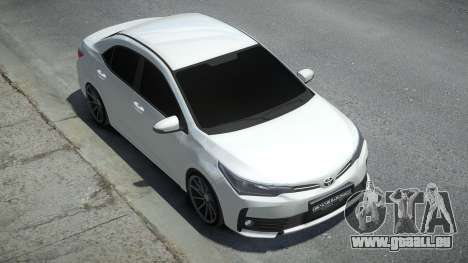 Toyota Corolla 2017 pour GTA 4