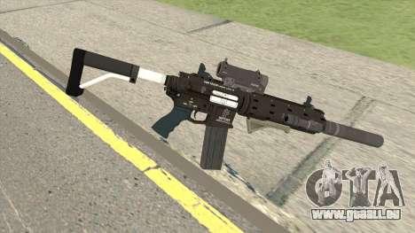 Carbine Rifle Silenced GTA V pour GTA San Andreas