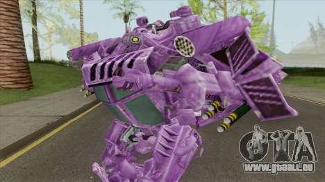Shockwave Skin (Transformers The Game) pour GTA San Andreas