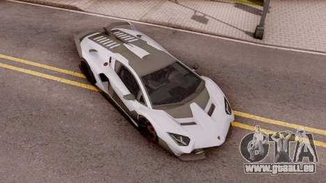 Lamborghini SC18 Alston 2019 pour GTA San Andreas