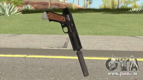 AP Pistol Silenced GTA V pour GTA San Andreas