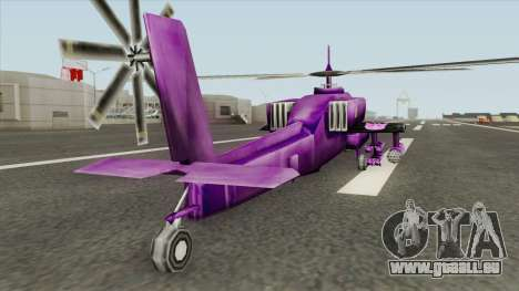 Shockwave Helicopter (Transformers The Game) pour GTA San Andreas