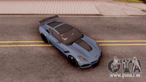 Chevrolet Corvette ZR1 2019 pour GTA San Andreas