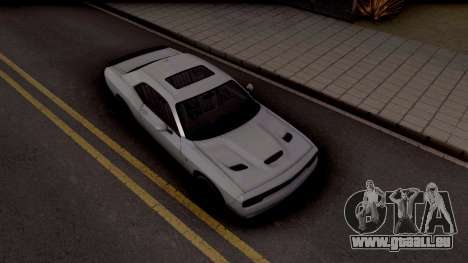 Dodge Challenger Hellcact Lowpoly pour GTA San Andreas