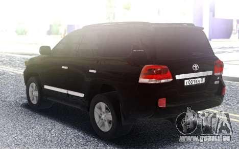 Land Cruiser 200 pour GTA San Andreas