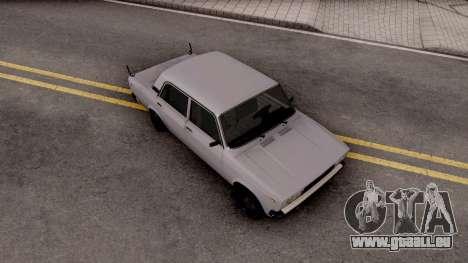 VAZ 2107 Aze PITBUL pour GTA San Andreas