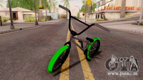 BMX GREENLINE AB2 pour GTA San Andreas