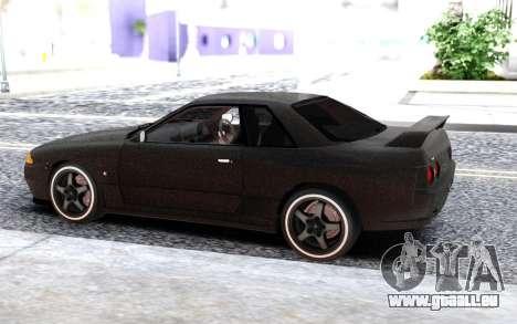 Nissan Skyline GT-R 32 à sequins pour GTA San Andreas