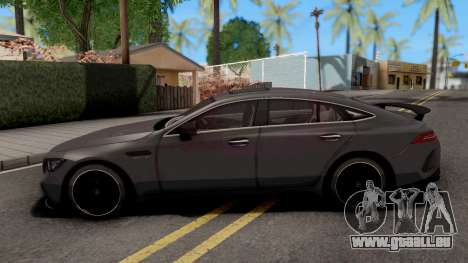 Mercedes-AMG GT63S 4-Door Coupe 2019 pour GTA San Andreas