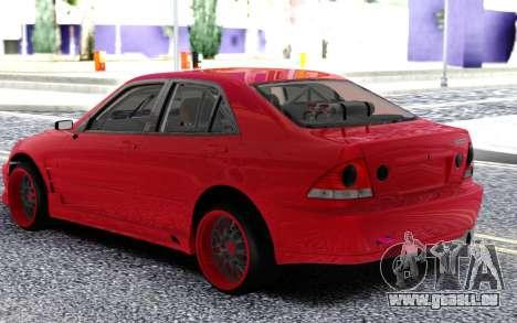 Toyota Alteza pour GTA San Andreas