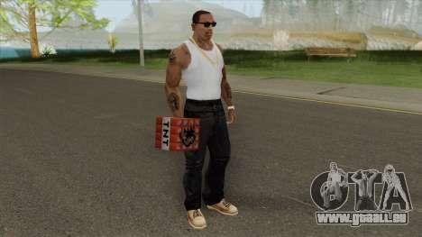 TNT Minecraft pour GTA San Andreas