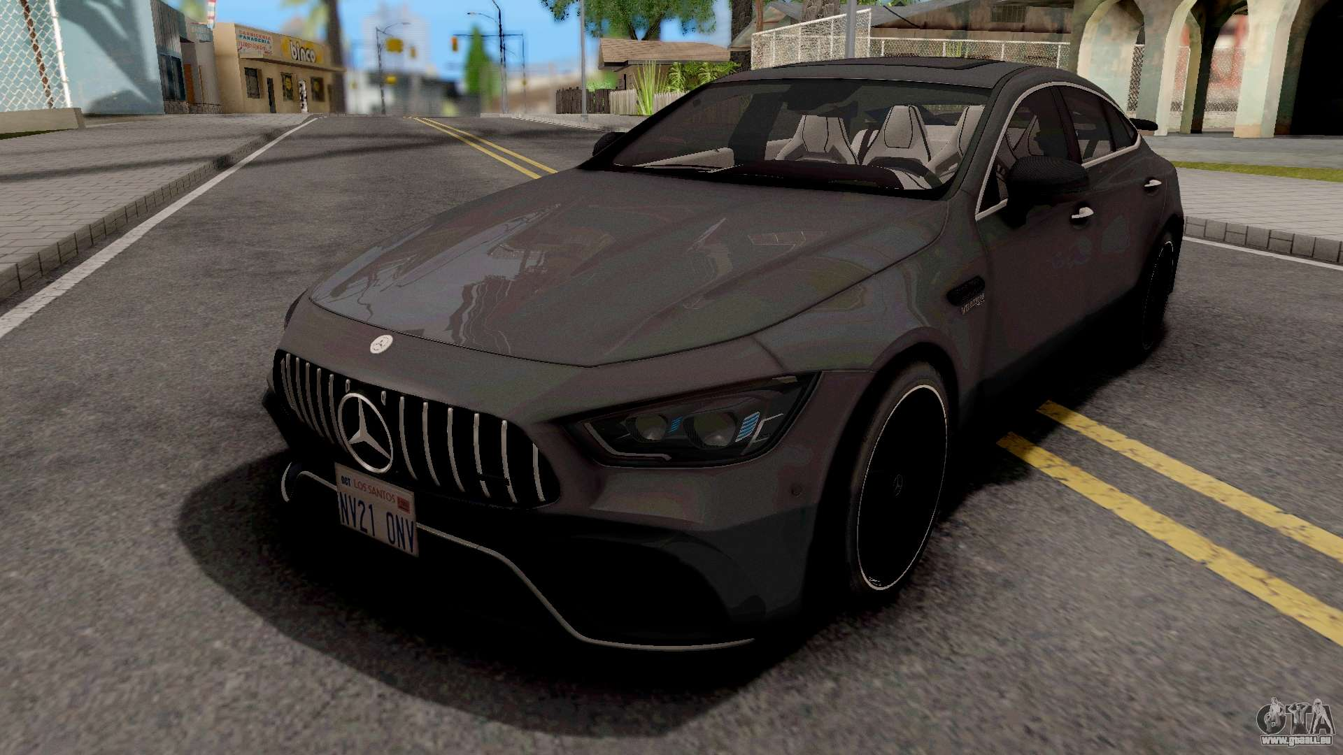 Mercedes Amg Gt63s 4 Door Coupe 2019 Fur Gta San Andreas