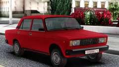 VAZ 2105 Berline Rouge pour GTA San Andreas