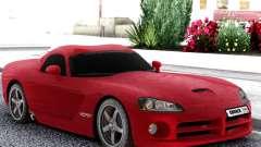 Dodge Viper  Red SRT-10 pour GTA San Andreas