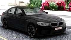 BMW M5 F90 Sedan Black pour GTA San Andreas