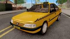 Peugeot 405 GLX Taxi pour GTA San Andreas